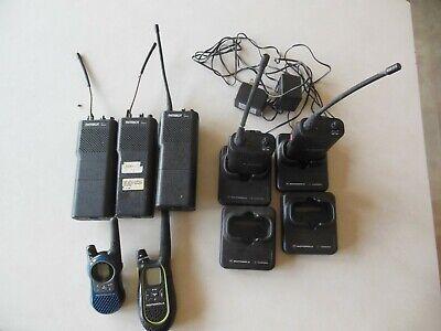 Ritron Motorola Walkie Talkie Radios Misc. Lot - Used