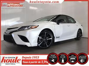 Toyota Camry XSE 2018, berline 4 portes (2018 Toyota Camry XSE,