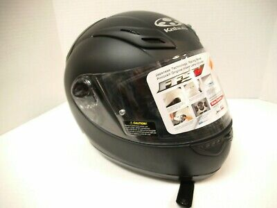 KABUTO FULL FACE HELMET LARGE FLAT BLACK CLOSEOUT for sale  Bloomsburg