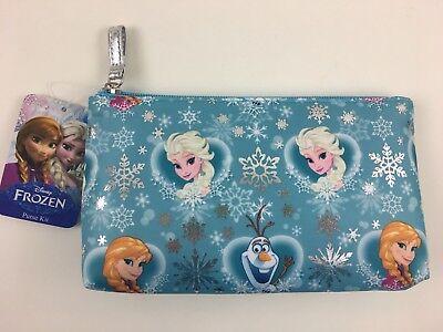 Frozen Makeup (NWT Disney Frozen Purse Kit Anna Elsa Olaf Cosmetic Bag Purse London SOHO)