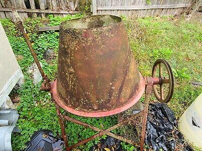 Antique Vintage Sears Roebuck Concrete Cement Mixer Model 7139503