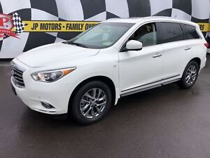 2015 Infiniti QX60 Navigation, Leather, 3rd Row Seating, AWD,