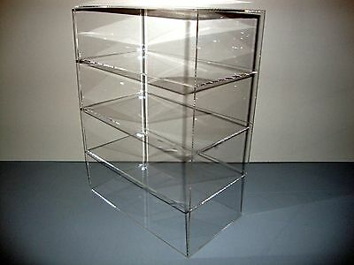 Acrylic Lucite Countertop Display Case Showcase Box Cabinet 12 X 9 12 X 16