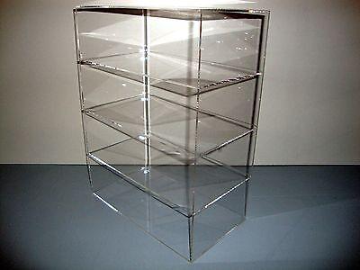 Acrylic Lucite Countertop Display Case Showcase Box Cabinet 12 X 9 12 X 16