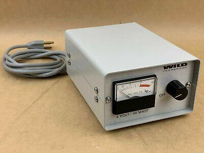 Wild Heerbrugg Leitz Model 990018 Microscope Power Supply