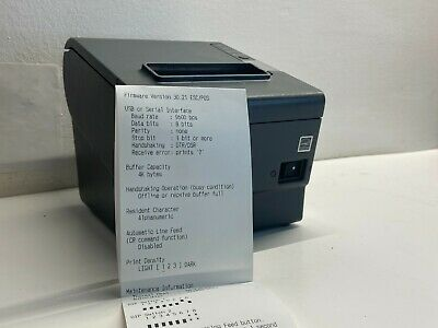 Epson Tm-t88v M244a Usb Thermal Receipt Pos Printer Gray Ar283