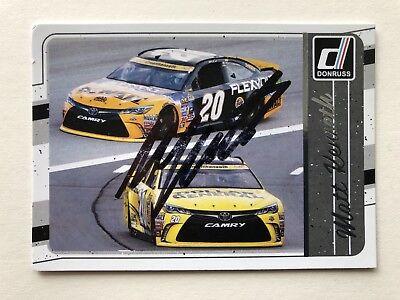 "NASCAR Matt Kenseth signed Approx 4"" X 3"" photo Card"
