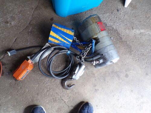CM Lodestar Model H 1 Ton Electric Chain Hoist 110/120V