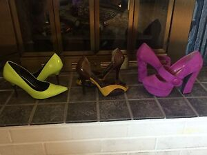 Womens heels - sizes 6, 6.5 and 7