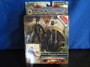 Shadowrun Duels Action Figure Game Street Deacon Vigilante Giant Hero Clix!