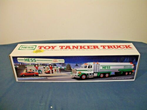 1990 Hess Toy Tanker Truck, New In Box