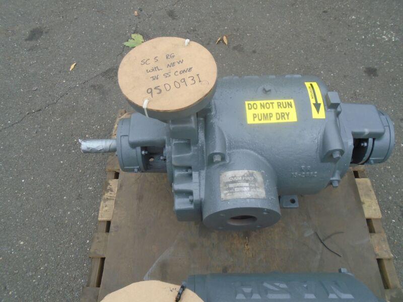 Nash vacuum pump Liquid Ring vacuum pump SC-5 100% rebuilt with warranty