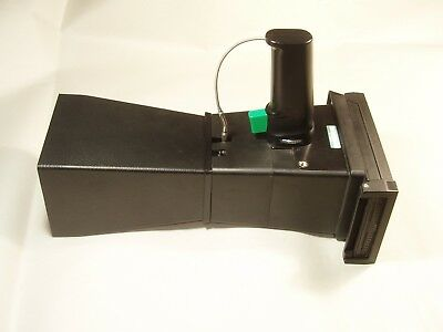 Tektronix C-4 Oscilloscope Crt Camera 105mm 14.5 Lens Hood Copal Tominon