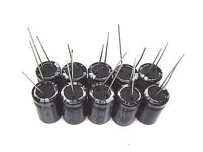 10pcs Electrolytic Capacitors 25v 2200uf Volume 13x21mm 2200uf 25v