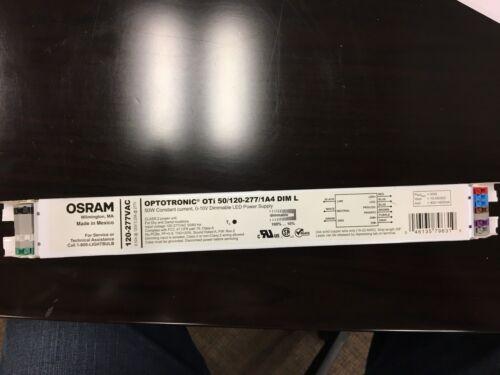 OSRAM OPTOTRONIC OTi 50/120-277/1A4 DIM L