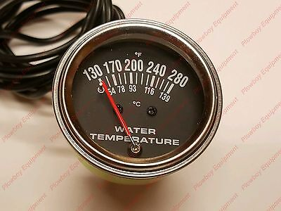 Temp Gauge Massey Ferguson To20 To30 35 40 50 65 85 88 135 150 165 175 180 202