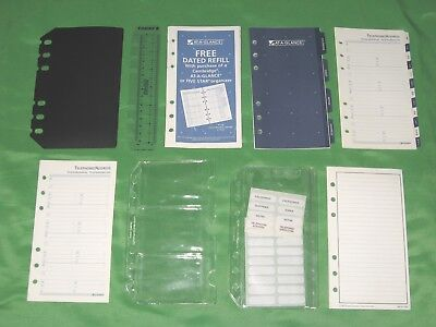 Compact 1 Year Undated Refill Tab Page Lot Day Runner Planner Franklin Covey 156