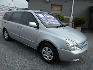 kia grand carnival 8 seater automatic wagon 2007 Klemzig Port Adelaide Area Preview