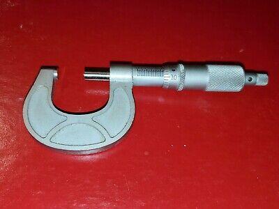 Tubular Micrometer Co. 0-1 Micrometer Made In Usa