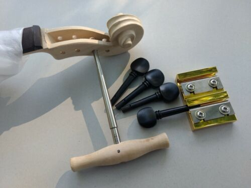 New Violin Reamer & Shaper Set for fitting 4/4 & 3/4 Pegs Quality Luthier Tool