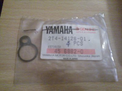 GENUINE <em>YAMAHA</em> CARBURETTOR MIXING CHAMBER GASKET 2T4 14126 01 JOG RIVA