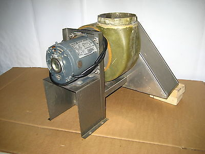 Industrial Blower With General Electric Motor And Hood