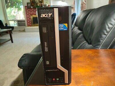 Acer Veriton SFF PC Intel Core i3 4GB RAM 160GB HDD DVDRW Windows 10 PRO desktop