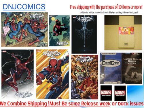 AMAZING SPIDER-MAN #75 Eight cover Set  Pre-sale  MARVEL comics  2021  NM