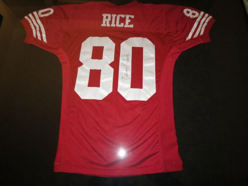 JERRY RICE GAME USED 1995 JERSEY EXACT PROOF! SAN FRANCISCO 49ERS GAME WORN COA