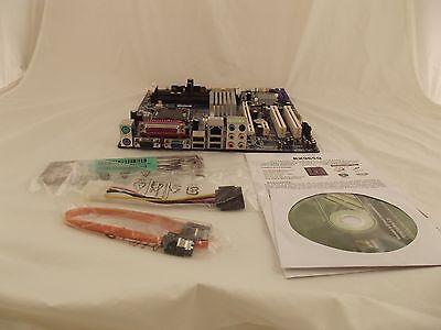 BCM RX965Q Intel Q965 LGA 775 Socket micro ATX Motherboard w/Accessories H3 SD