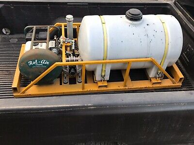 Driveway Sealcoating Sprayer - 65 Gallon - 4hp Honda Pump