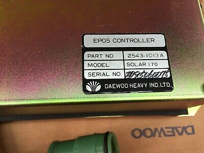 Doosan Daewoo Excavator E-epos Controller Solar 170 2543-1013a New