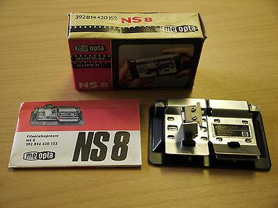 Meopta Filmklebepresse NS8 Klebepresse Normal  Regular Super Single 8 OVP neu