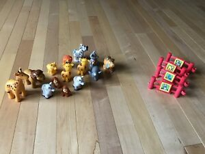 Fisher Price Zoo Animals
