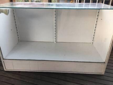 Vintage Shop Display Cabinet