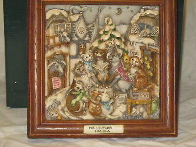 Harmony Kingdom  Picturesque   Cats  Lillipurrs Lodging