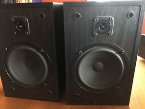 Cerwin Vega bookshelf speakers