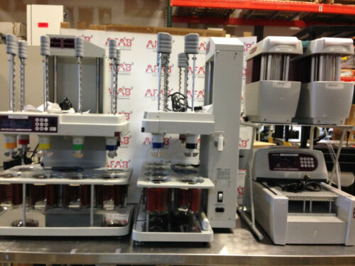 Dual Distek 6100 Dissolution System, 4300 Autosampler, Dual Syringe Pumps