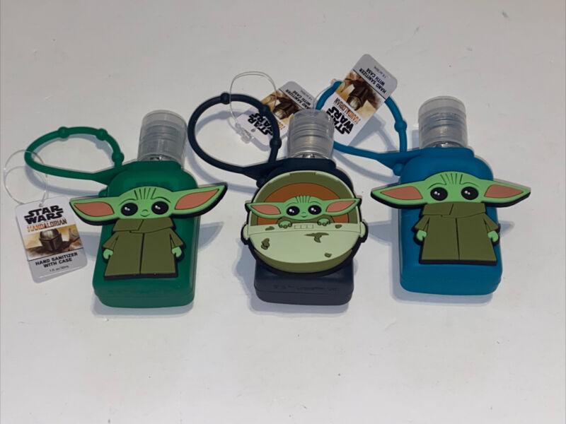 Set Of 3. New Star Wars/THE CHILD/Mandalorian/ Baby Yoda. 1 oz sanitizer