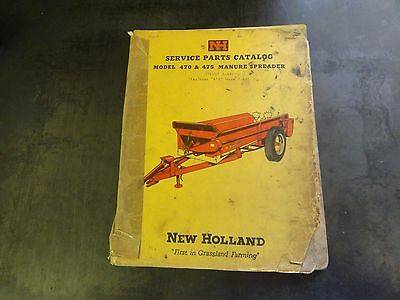 New Holland 470 475 Manure Spreader Service Parts Catalog  5-62