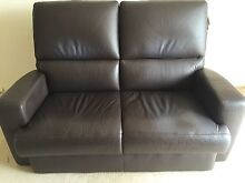 2 Seater Leather Lounge Hunters Hill Hunters Hill Area Preview