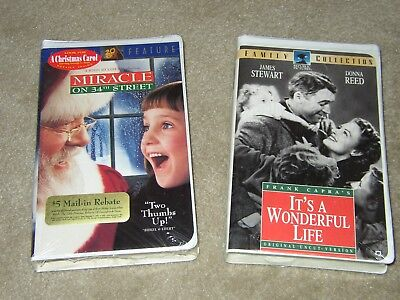 2 Christmas Xmas films Miracle On 34th Street &