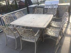 Patio Dining set - Cast Iron