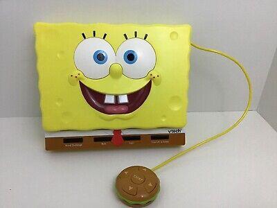 Spongebob Squarepants Laptop Talking Learning Toy Vtech (Learn Talking Laptop)