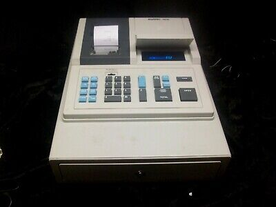 Swintec Sw20 Cash Register Electric Battery Powered With Cord No Manual Or Key
