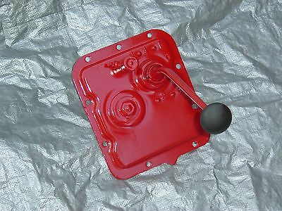 8n Ford Tractor 4 Speed Transmission Cover Shifter New Boot New Shifter Knob