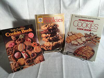 Mestle Best-Ever Cookies & Betty Crocker's Cookie Book & BH&G Homemade