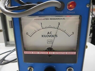 Associated Research 4025 Hypot Jr. Dielectric Tester 3000 Vac 20 Ma Output