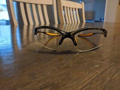 New Iaui Safety Eyewear Eyeglasses Eyeglass Black Yellow With Soft Case