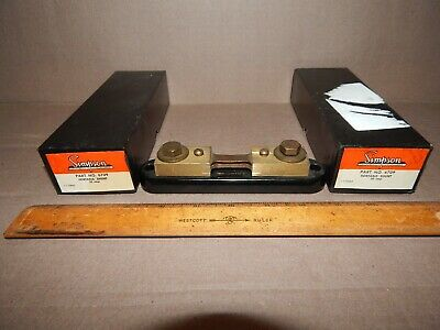 Simpson Electric 6709 Portable Shunt 50 Amp 50 Mv